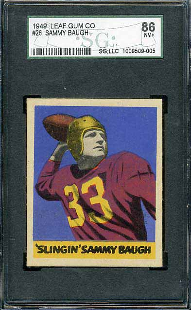 1949 Leaf Baugh