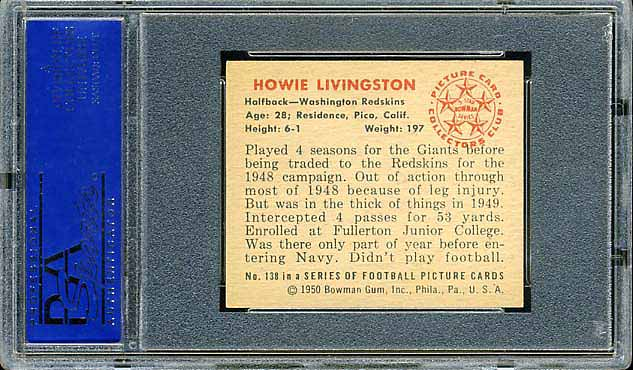 1950 Bowman Livingston