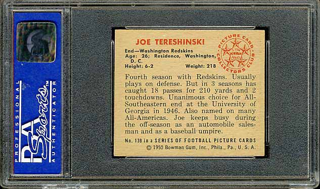 1950 Bowman Tereshinski