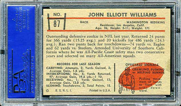 1953 Bowman Williams