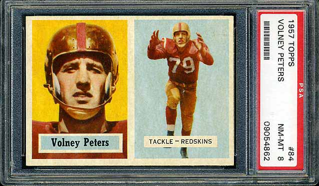 1957 Topps Peters