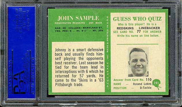 1955 Philadelphia Sample