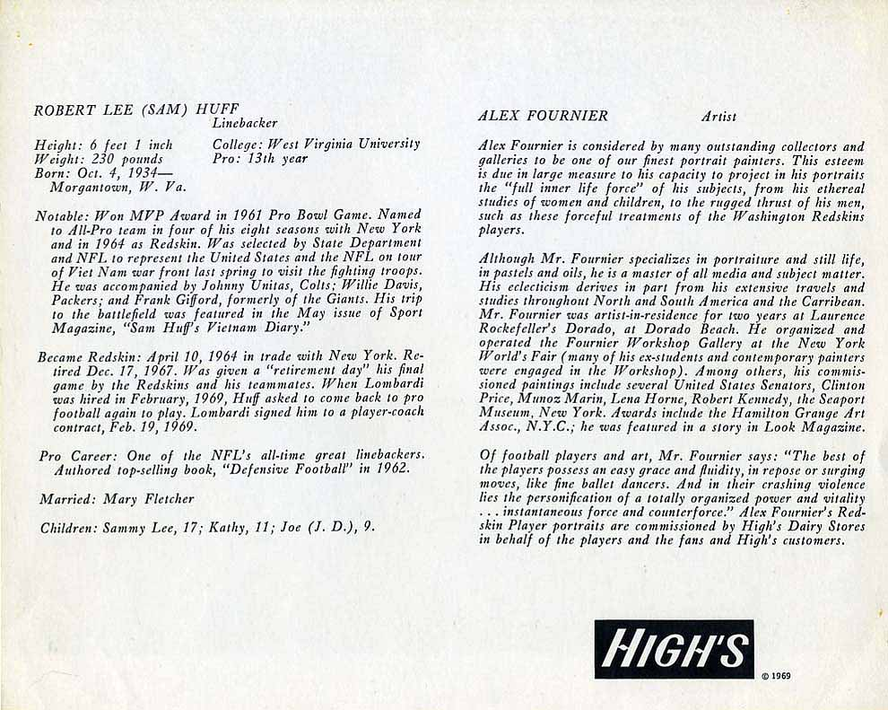 1969 Highs Dairy Huff