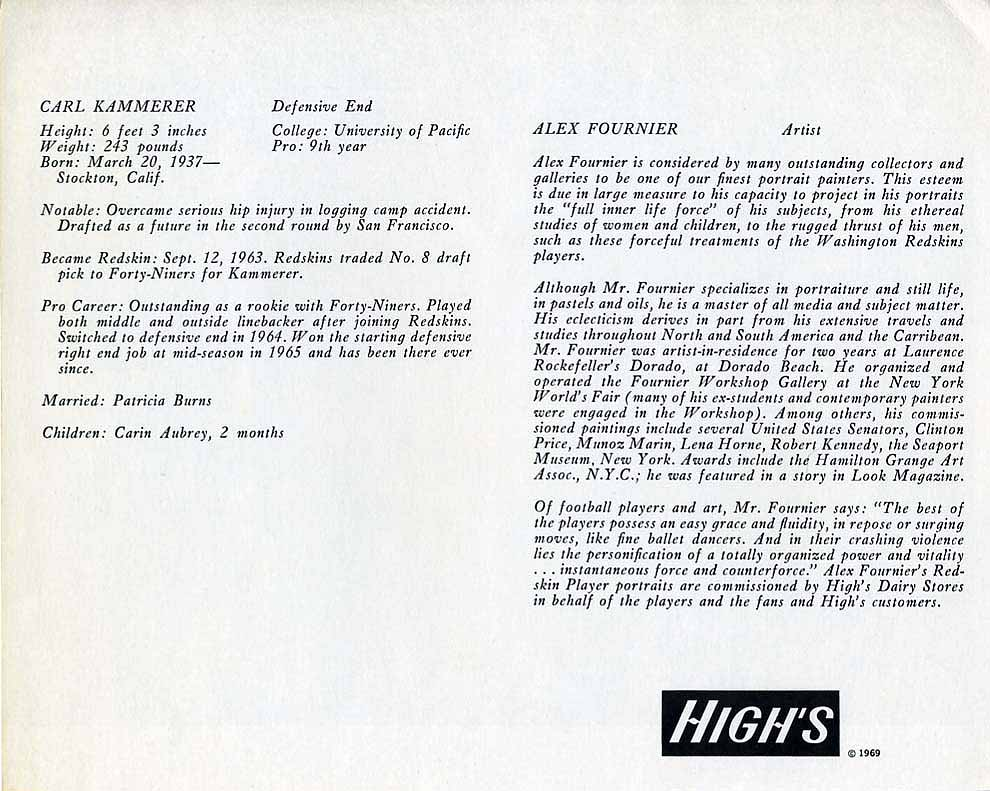1969 Highs Dairy Kammerer