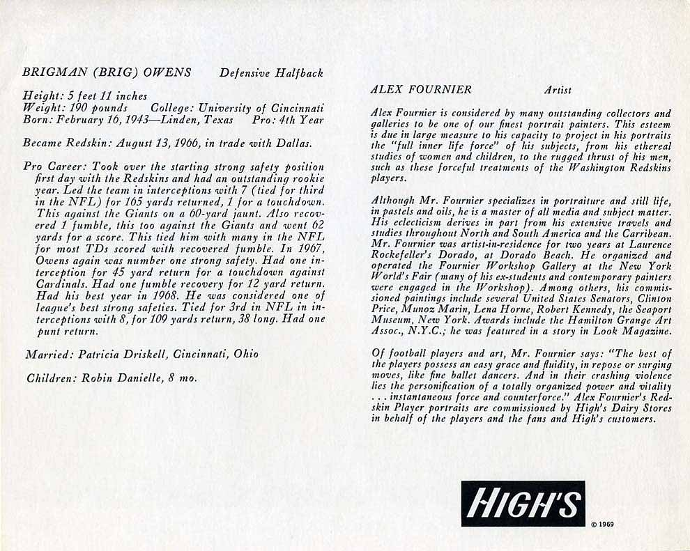 1969 Highs Dairy Owens