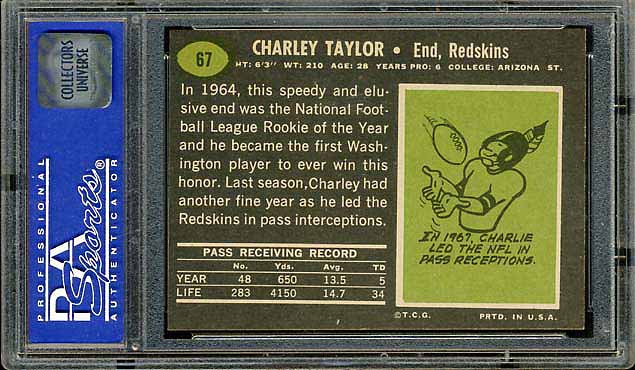 1969 Topps Taylor