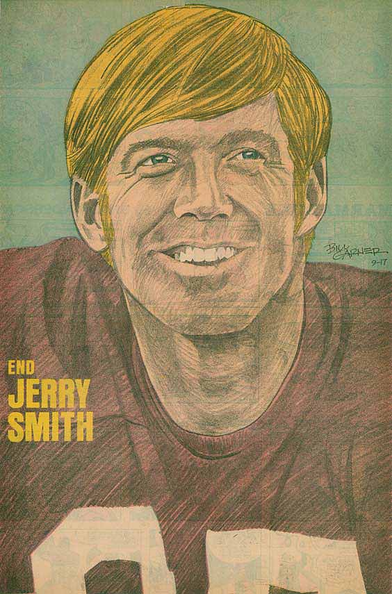 Redskins Newspaper Posters Jerry Smith