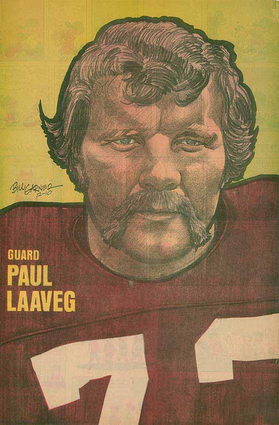 Redskins Newspaper Posters Paul Laaveg