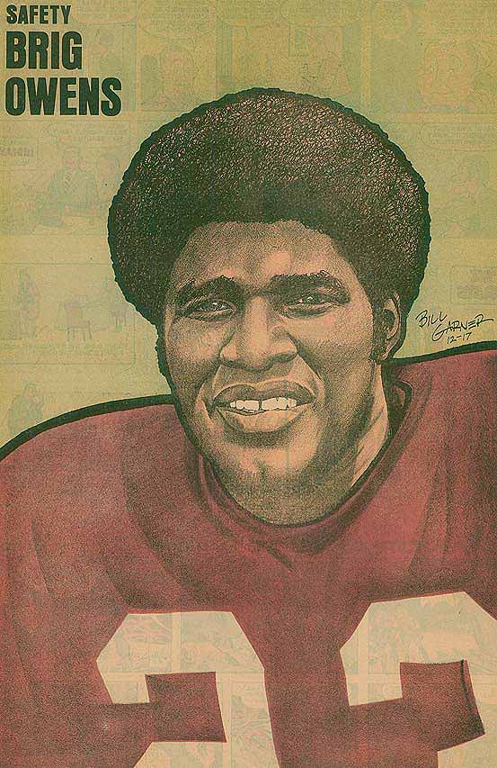 Redskins Newspaper Posters Brig Owens