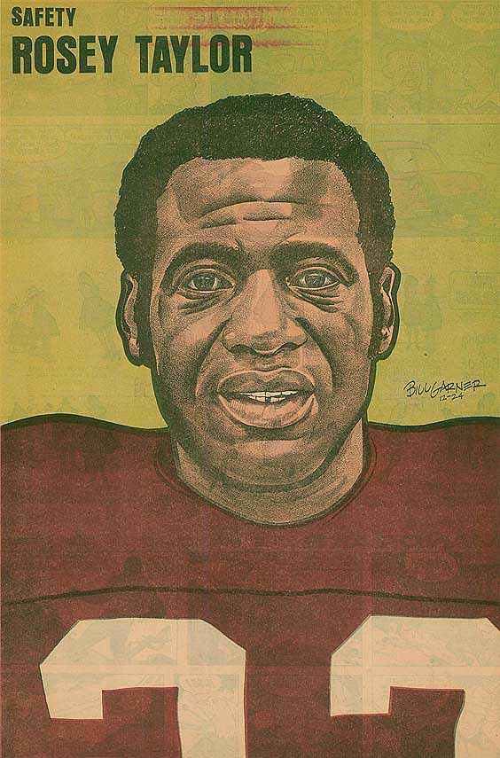 Redskins Newspaper Posters Rosey Taylor