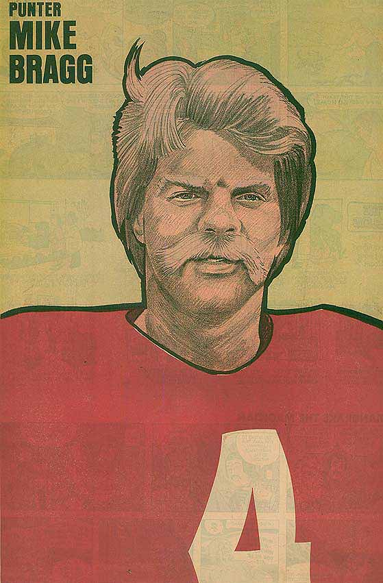 Redskins Newspaper Posters Mike Bragg