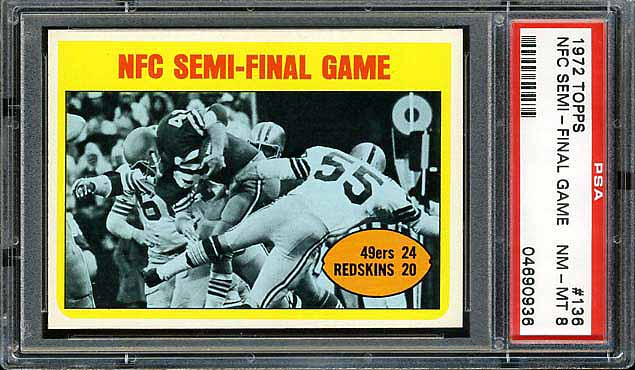 1972 Topps NFC Semi-Final Game