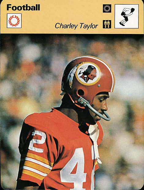 Sportscaster Charley Taylor