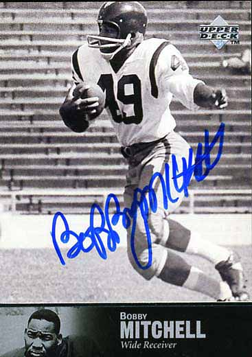 Bobby Mitchell Autograph