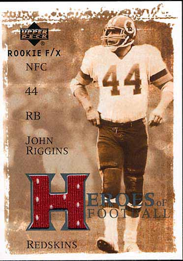 John Riggins Jersey Card