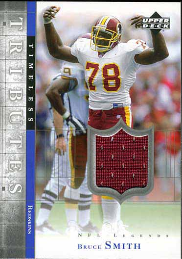 Bruce Smith Jersey Card